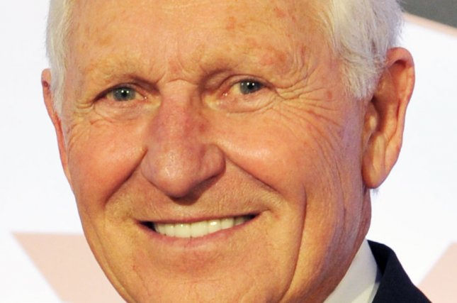 Former University of Arizona basketball coach Lute Olson is likely to make a full recovery after having a minor stroke on Saturday in Arizona, doctors said. File Photo by Art Foxall/UPI