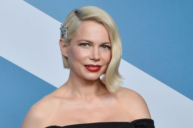 Michelle Williams will portray Katharine Parr in Firebrand, a psychological horror film directed by Karim Aïnouz. File Photo by Jim Ruymen/UPI