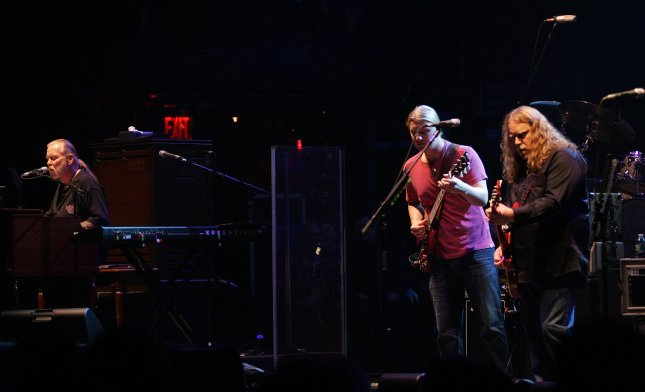 Allman Brothers perform in concert at the Beacon Theater in New York on March 10, 2011. UPI /Laura Cavanaugh