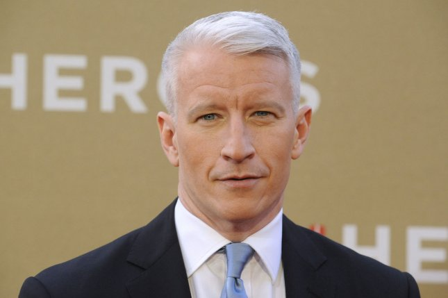 Anderson Cooper attends CNN Heroes: An All-Star Tribute held at the Shrine Auditorium in Los Angeles on December 11, 2011. UPI/ Phil McCarten