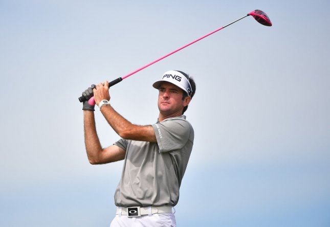 Bubba Watson shot a first-round 66 at the Canadian Open on Thursday. Photo by Kevin Dietsch/UPI