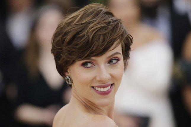 Scarlett Johansson has been named the highest paid actress of 2018 followed by Angelina Jolie and Jennifer Aniston. File Photo by John Angelillo/UPI