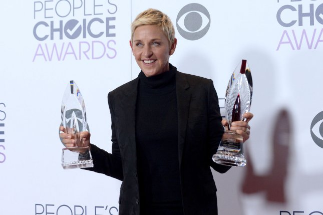 Ellen DeGeneres discusses her life and career while performing standup in the first trailer for Netflix's Relatable. File Photo by Jim Ruymen/UPI