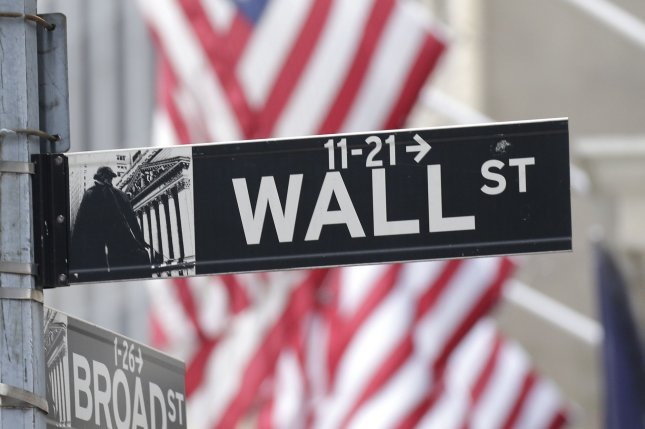 The Nasdaq Composite fell 2.46% Monday as major tech stocks declined, while the value of bitcoin also fell after Tesla CEO Elon Musk and Treasury Secretary Janet Yellen commented on the cryptocurrency. Photo by John Angelillo/UPI