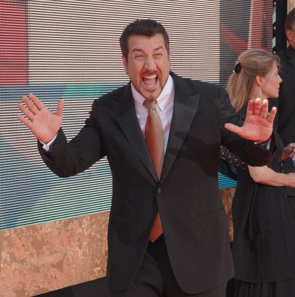 Joey Fatone arrives at the 59th Primetime Emmy Awards at the Shrine Auditorium in Los Angeles on September 16, 2007. (UPI Photo/Jim Ruymen)