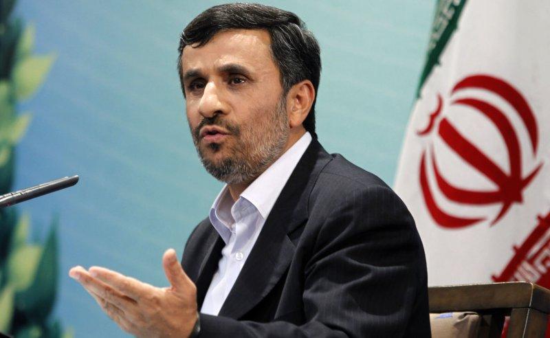Iranian President Mahmoud Ahmadinejad UPI/Maryam Rahmanian