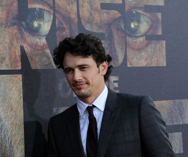 James Franco, a cast member in the motion picture sci-fi thriller Rise of the Planet of the Apes, arrives for the premiere of the film at Grauman's Chinese Theatre in Los Angeles on July 28, 2011. UPI/Jim Ruymen