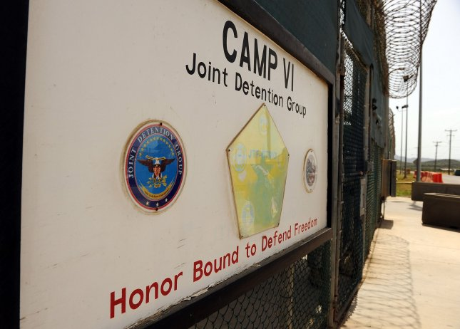 A sign for Camp VI in Camp Delta where detainees are housed is seen at Naval Station Guantanamo Bay in Cuba on July 8, 2010. UPI/Roger L. Wollenberg