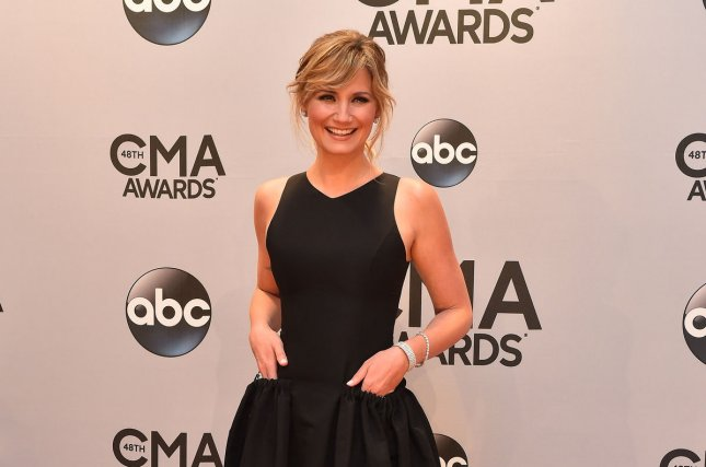 Jennifer Nettles is to make her Broadway debut in Chicago. She is seen here at the 48th annual Country Music Awards Nov. 5, 2014. UPI/Kevin Dietsch