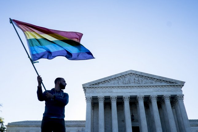 The Supreme Court on Monday upheld New Jersey's ban on conversion therapy for gay kids. Photo by Marovich/UPI