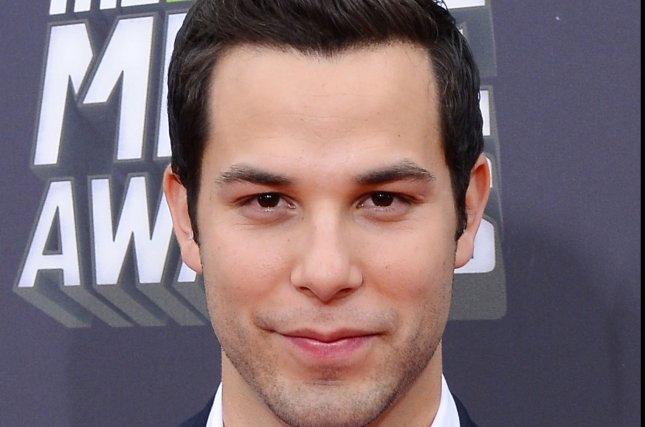 Actor Skylar Astin is to lead the voice cast of Netflix's animated series Trolls. File Photo by Jim Ruymen/UPI