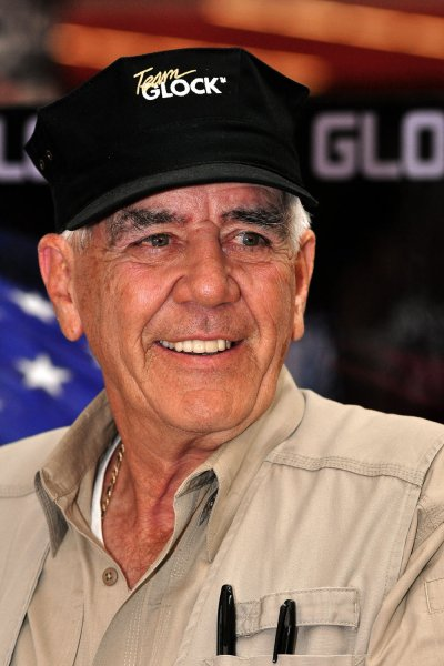 Former Marine and actor Ronald Lee Ermey -- known as The Gunny -- died Sunday at the age of 74. File Photo by Archie Carpenter/UPI