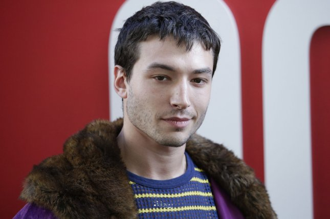 The Flash star Ezra Miller. The actor's standalone Flash film has had its production delayed. File Photo by John Angelillo/UPI