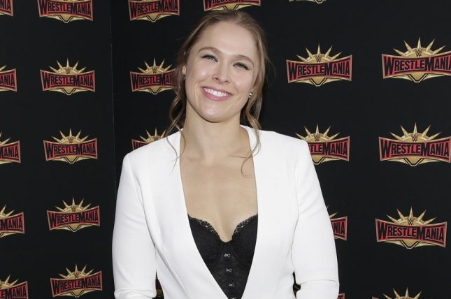 Ronda Rousey voices Sonya Blade in a new gameplay trailer for Mortal Kombat 11. File Photo by John Angelillo/UPI
