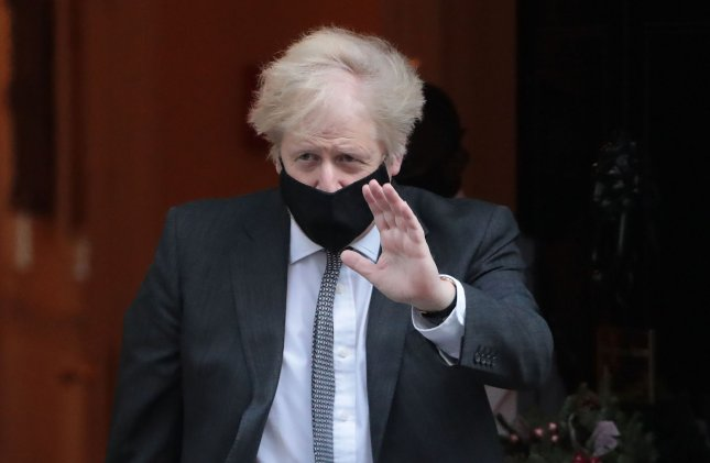 The European Court of Auditors raised concerns Monday over proposal for reserve funds related to the Brexit deal praised by British Prime Minister Boris Johnson (shown). File Photo by Hugo Philpott/UPI