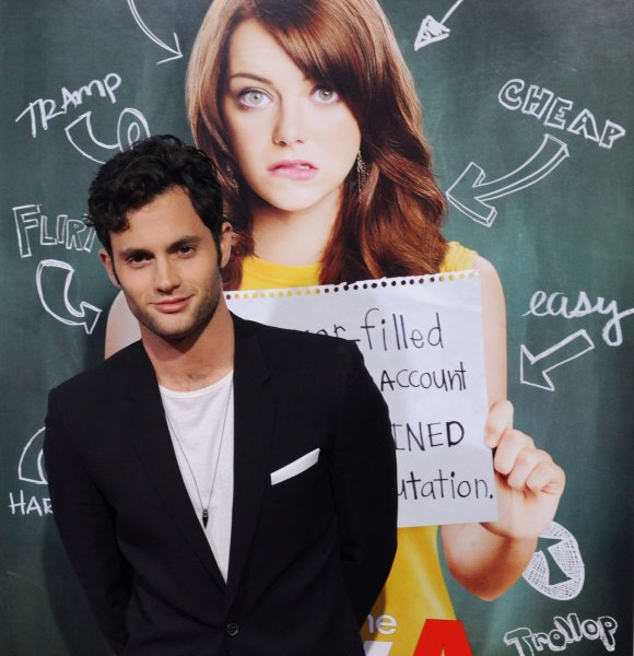 Penn badgley who is he dating