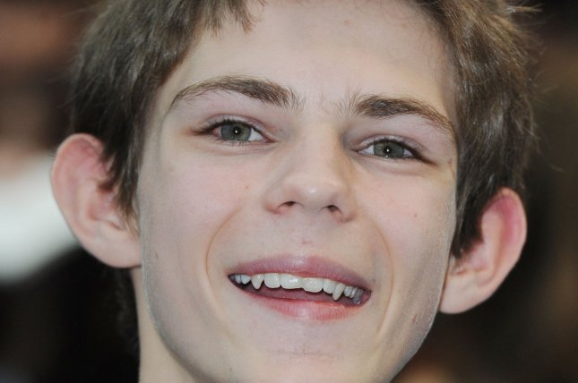 British actor Robbie Kay, seen here in 2011 at the premiere of Pirates Of The Caribbean: On Stranger Tides, will return to his role as Peter Pan in Once Upon A Time for its 100th episode. File Photo by Rune Hellestad/UPI
