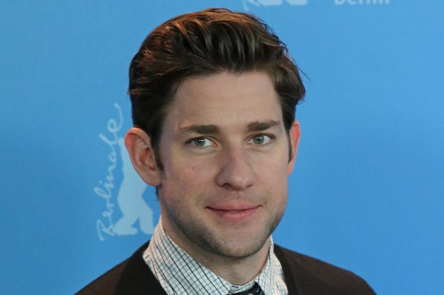 John Krasinski is to play Jack Ryan in a new Amazon series. He is seen here at the photo call for the film Promised Land during the 63rd Berlinale Film Festival on February 8, 2013. File Photo by David Silpa/UPI