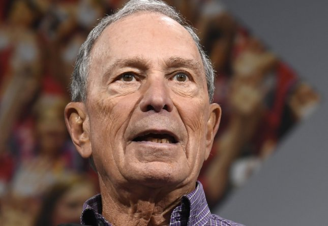 Former New York City Mayor Michael Bloomberg apologized Sunday for his administration's controversial stop-and-frisk policy. Photo by Mike Theiler/UPI.