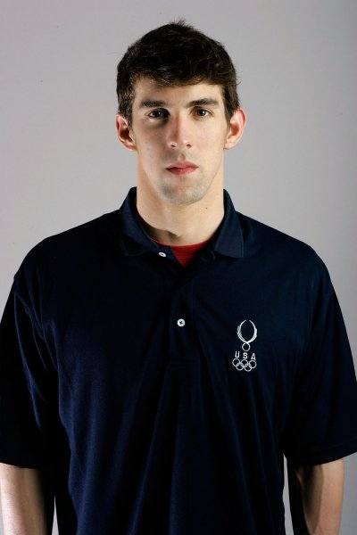U.S. swimmer Michael Phelps, shown at the 2008 Olympic Team Media Summit April 14, 2008. (UPI Photo/Brian Kersey)
