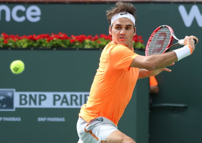 Roger Federer has reached the third round of the Italian Open in Rome. File photo by David Silpa/UPI
