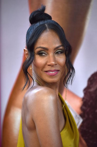 Jada Pinkett Smith discussed her propensity to binge on Monday's episode of Red Table Talk. File Photo by Christine Chew/UPI