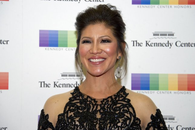 Julie Chen arrives for the formal Artist's Dinner honoring the recipients of the 40th Annual Kennedy Center Honors in Washington, D.C., on December 2, 2017. The TV personality turns 50 on January 6. File Photo by Ron Sachs/UPI