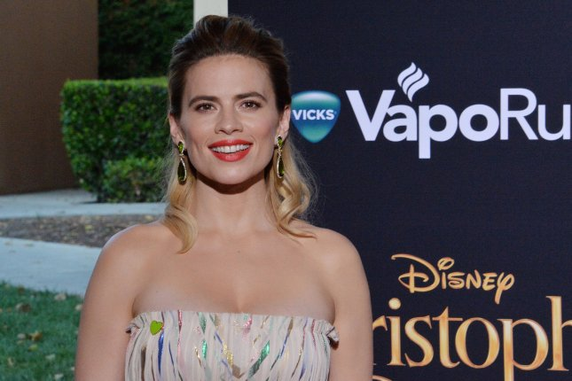 Hayley Atwell will voice Lara Croft in a Tomb Raider anime series from Netflix and Legendary Television. File Photoby Jim Ruymen/UPI