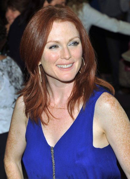 Julianne Moore arrives for the premiere of Blindness at the Elgin Theater during the Toronto International Film Festival in Toronto, Canada on September 6, 2008. (UPI Photo/Christine Chew)