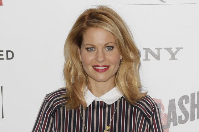 Candace Cameron Bure at the New York premiere of Ricki and the Flash on August 3, 2015. The actress played D.J. Tanner on Full House. File Photo by John Angelillo/UPI