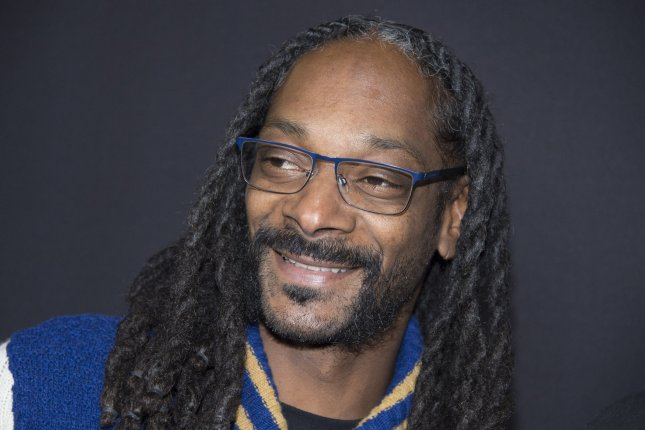 Rapper Snoop Dogg attends an event held at the ArcLight Theater on March 29, 2016 in the Hollywood section of Los Angeles. The rapper was a special guest for the Los Angeles Kings on Saturday night. File photo by Phil McCarten/UPI