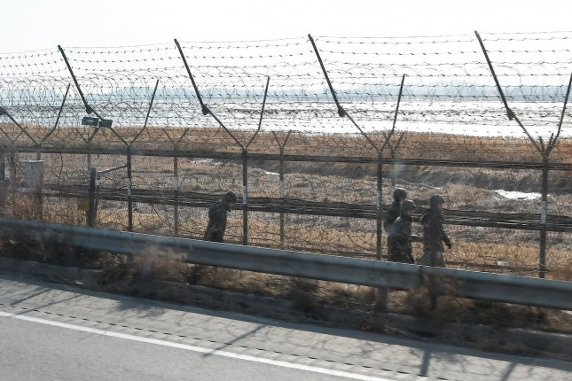 South Korea's military continues to excavate for remains in the Korean demilitarized zone (pictured), or DMZ. File Photo by Keizo Mori/UPI