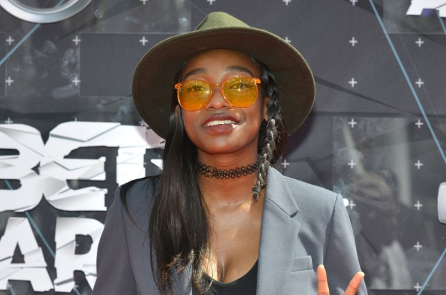 Simbi Ajikawo, aka Little Simz, plays Shelley on the Netflix series Top Boy. File Photo by Christine Chew/UPI