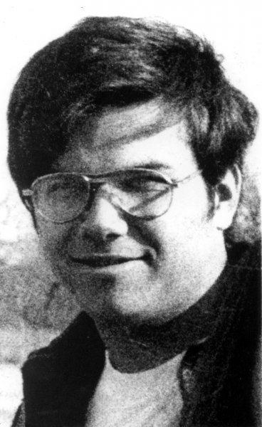 Mark David Chapman is seen here in this 1975 file photo. (UPI Photo Files)