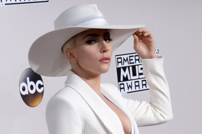 Lady Gaga arrives for the 2016 American Music Awards on November 20. She is partnering with NBC for the Share Kindness campaign. Photo by Jim Ruymen/UPI