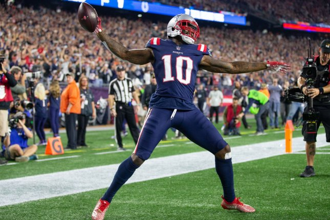 New England Patriots wide receiver Josh Gordon was suspended Dec. 20 for violating the terms of his conditional reinstatement. File Photo by Matthew Healey/UPI