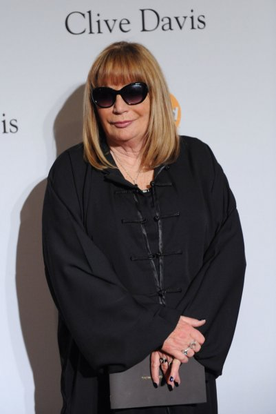 Penny Marshall attends the Clive Davis pre-Grammy party salute to Richard Branson in Beverly Hills, California on February 11, 2012. UPI/Jim Ruymen
