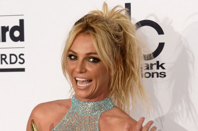 Britney Spears at the Billboard Music Awards on May 22. The singer is mom to two sons. File Photo by Jim Ruymen/UPI