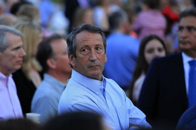 Then-Rep. Mark Sanford, R-S.C., attends the Congressional Picnic on the South Lawn of the White House in 2014. File Pool Photo by Dennis Brack/UPI
