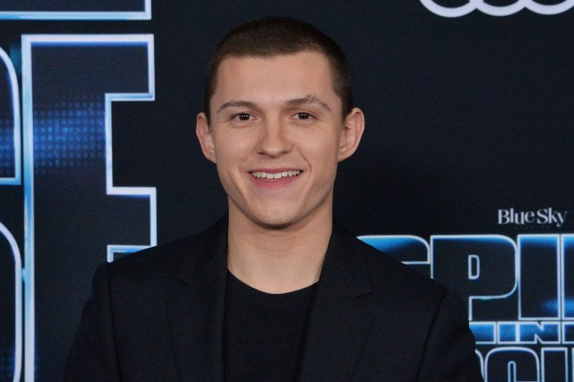 Tom Holland plays Todd Hewitt in Chaos Walking, a new film based on the Patrick Ness book series. File Photo by Jim Ruymen/UPI