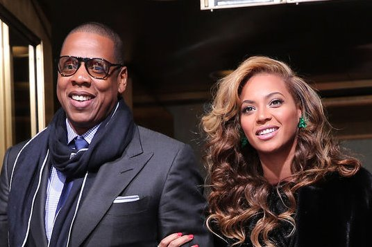 Beyoncé and Jay Z's joint album may debut in 2014, says music producer Detail. Photo by Win McNamee/UPI