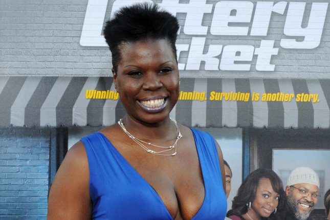 Cast member Leslie Jones attends the premiere of Lottery Ticket at Grauman's Chinese Theatre in the Hollywood section of Los Angeles on August 12, 2010. Milo Yiannopoulos, who was urging his followers to send Jones abusive tweets, has been permanently banned from the social media site. File Photo by Jim Ruymen/UPI