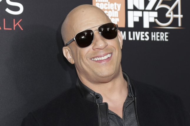 The Fate of the Furious star Vin Diesel arrives on the red carpet at a special world premiere presentation of Billy Lynn's Long Halftime Walk on October 14. Universal released a new trailer for The Fate of the Furious during the Super Bowl that also featured Dwayne Johnson, Charlize Theron and Jason Statham. File Photo by John Angelillo/UPI