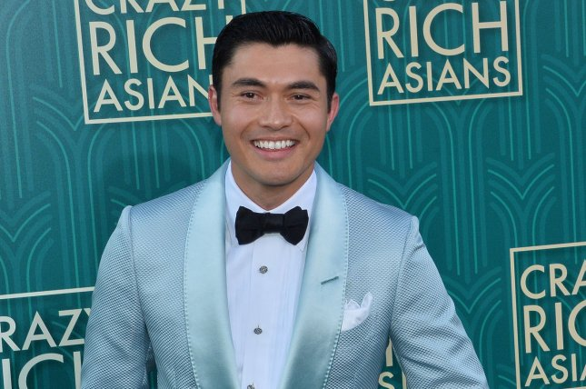 Henry Golding bought out a theater for John Cho's new movie Searching. File Photo by Jim Ruymen/UPI