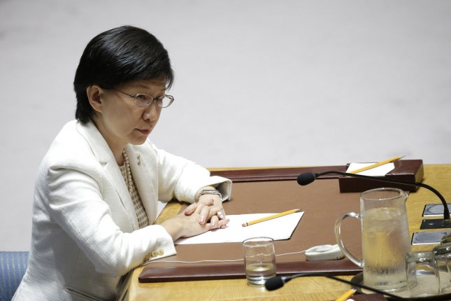 U.N. High Representative for Disarmament Affairs Izumi Nakamitsu said Thursday that Syria has made only limited developments in eliminating its chemical weapons since 2013. FilePhoto by John Angelillo/UPI