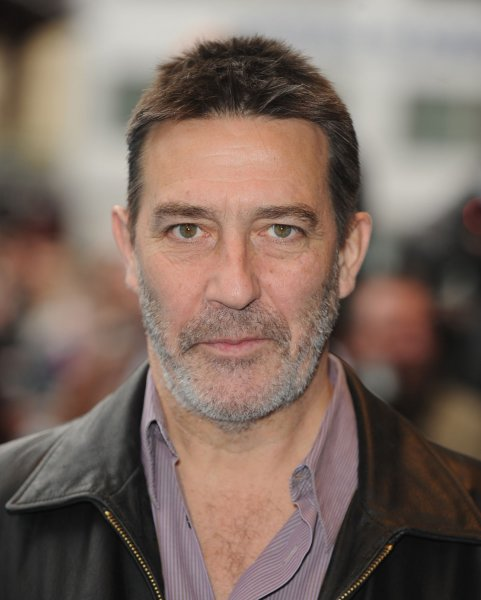 Ciaran Hinds attends the premiere of Race To Witch Mountain at Odeon West End, Leicester Square in London on April 5, 2009. Hinds is set to portray villain Steppenwolf in Justice League. File Photo by Rune Hellestad/UPI