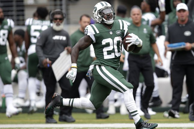 962b7da057f Jets cut RB Isaiah Crowell following Le Veon Bell deal - UPI.com