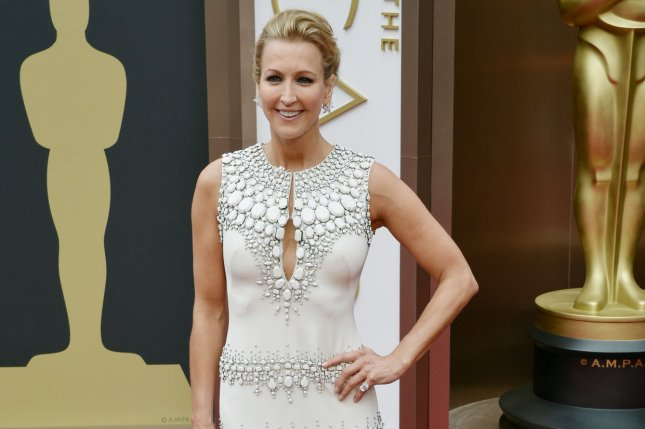 Lara Spencer arrives on the red carpet at the 86th Academy Awards at Hollywood & Highland Center in the Hollywood section of Los Angeles on March 2, 2014. UPI/Kevin Dietsch