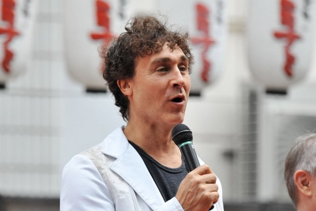 Director Doug Liman attends a promotion event for his film Edge of Tomorrow at the Dotonbori Riverside in Osaka, Japan in 2014. File photo by Keizo Mori/UPI