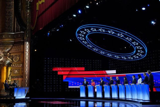 ABC revealed when the third round of Democratic primary debates will take place, as well as the format and who will moderate.  Photo by John Nowak/CNN/UPI